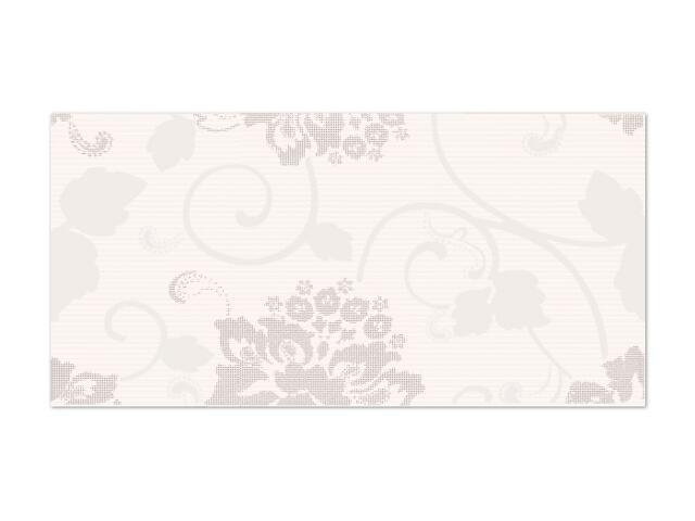 Płytka ścienna Secret Bianco inserto drukowane A 29,5x59,5 Paradyż