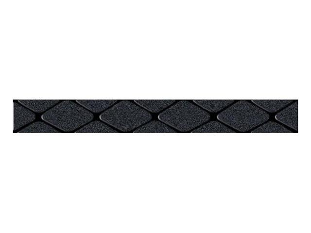 Płytka ścienna Secret Nero listwa drukowana poduszki 7x59,5 Paradyż