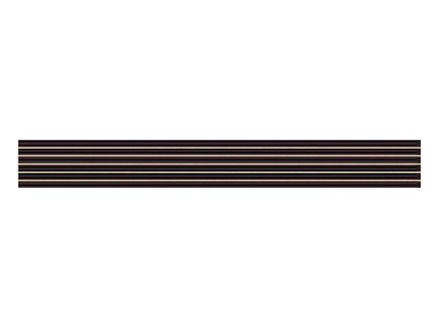 Płytka ścienna Secret Nero listwa nacinana 7x59,5 Paradyż