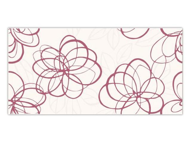 Płytka ścienna Vivida Viola inserto drukowane 30x60 opakowanie styropianowe Paradyż