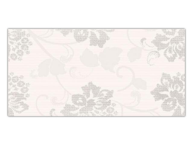 Płytka ścienna Secret Bianco inserto drukowane B 29,5x59,5 Paradyż