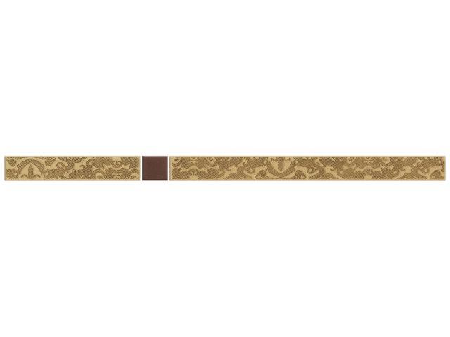 Płytka ścienna Kashmire Gold listwa Murano 2,3x40 Paradyż