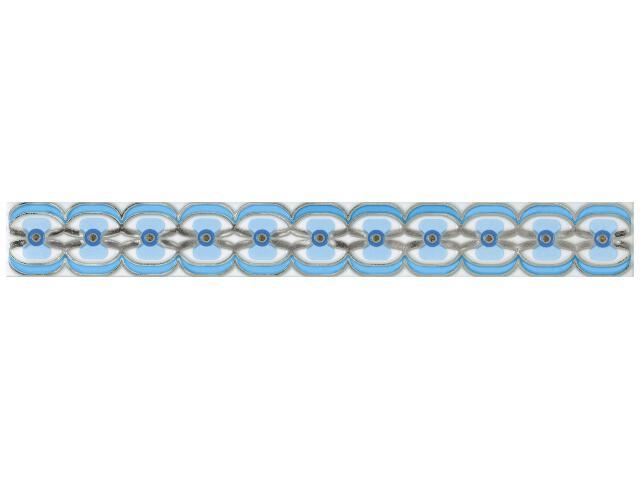 Płytka ścienna Blush Blue listwa 4,8x40 Paradyż