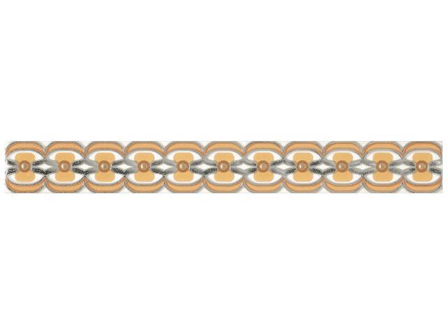 Płytka ścienna Blush Orange listwa 4,8x40 Paradyż
