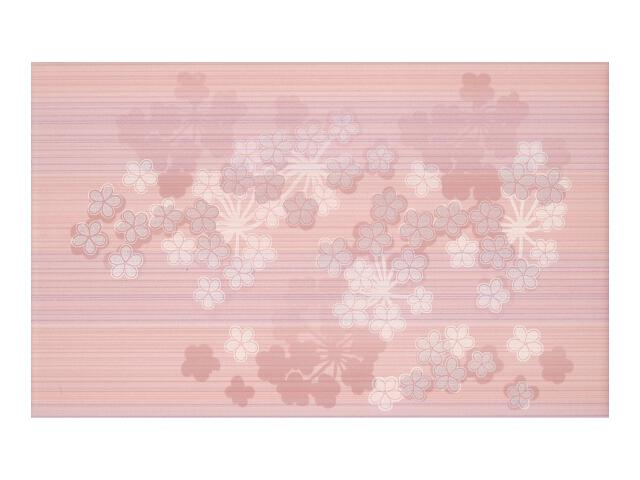 Płytka ścienna Melua Coral Alfa Kwiat 25x40 Paradyż