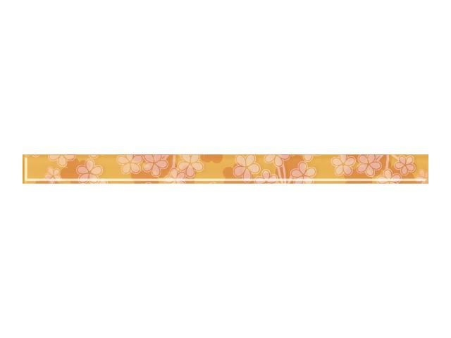 Płytka ścienna Melua Ochra listwa szklana 3x40 Paradyż
