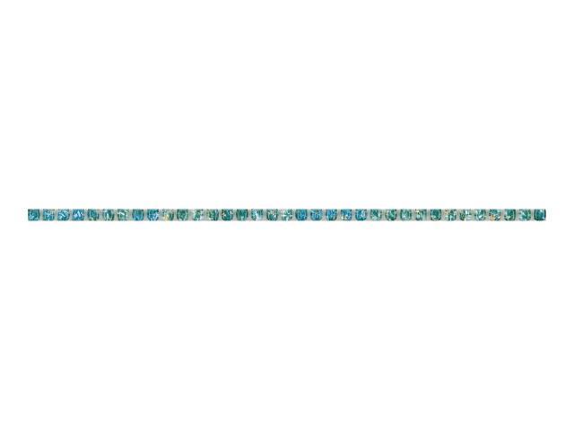 Płytka ścienna Concert Verde matita nacinana Murano 0,6x30 Paradyż