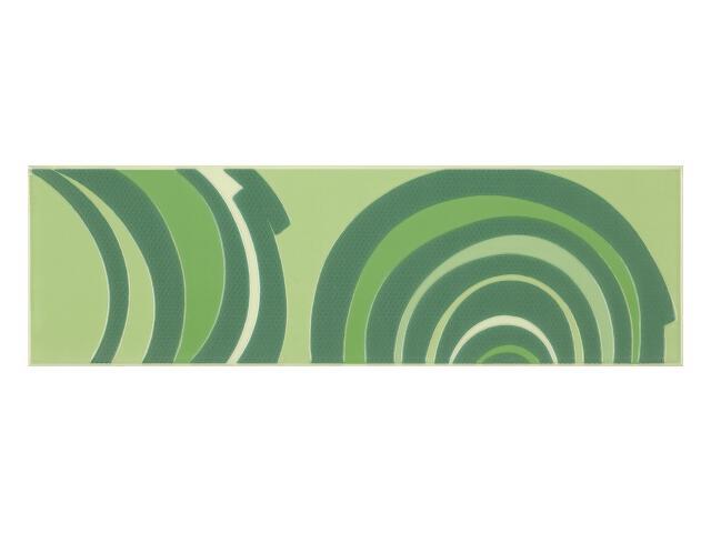 Płytka ścienna Fashion Verde listwa 12,4x40 Paradyż
