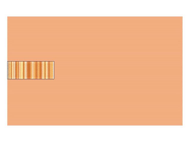 Płytka ścienna Concert Orange inserto wycinane 25x40 Paradyż