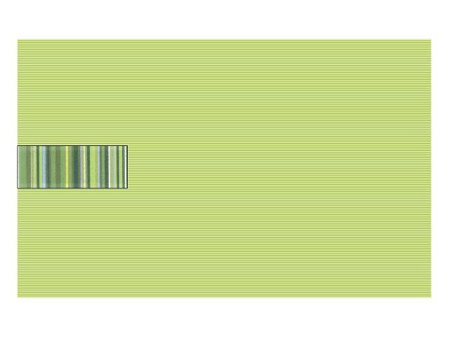 Płytka ścienna Concert Verde inserto wycinane 25x40 Paradyż