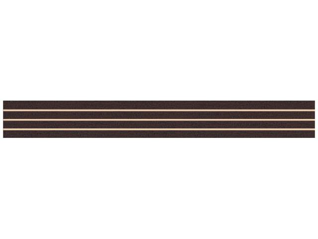Płytka ścienna Concert Brown listwa nacinana 4,8x40 Paradyż