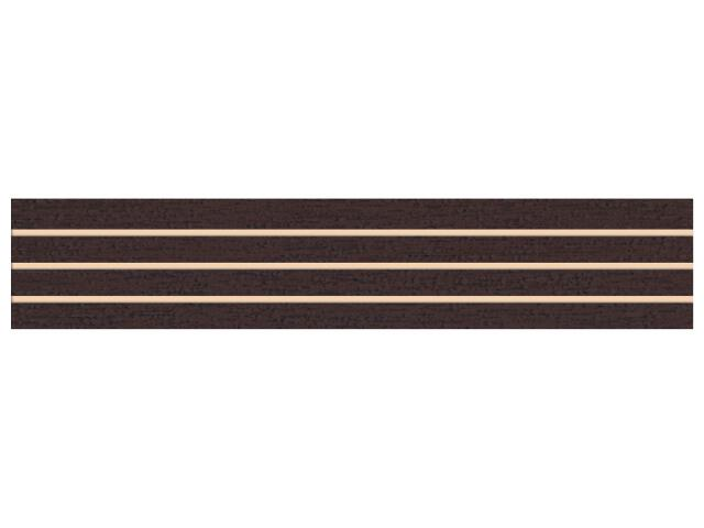 Płytka ścienna Concert Brown listwa nacinana 4,8x25 Paradyż
