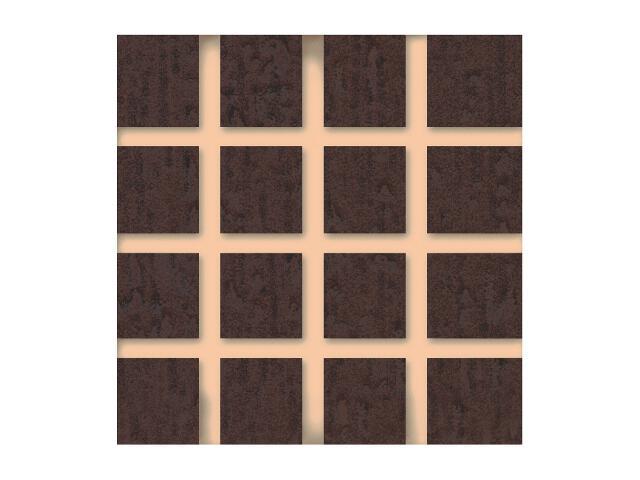 Płytka ścienna Concert Brown narożnik nacinany 4,8x4,8 Paradyż