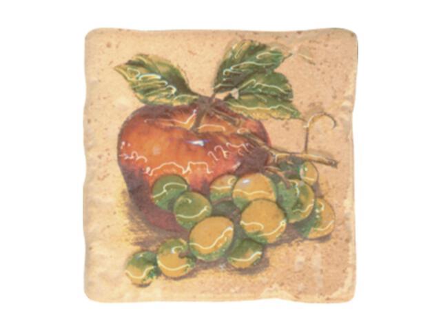 Płytka ścienna Dolce Beige Jabłko inserto 10x10 Paradyż