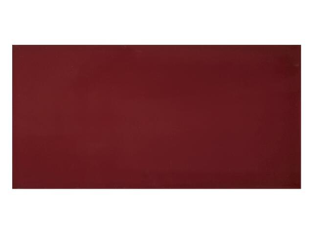 Płytka ścienna Charme Bordo gładka 25x50 Polcolorit