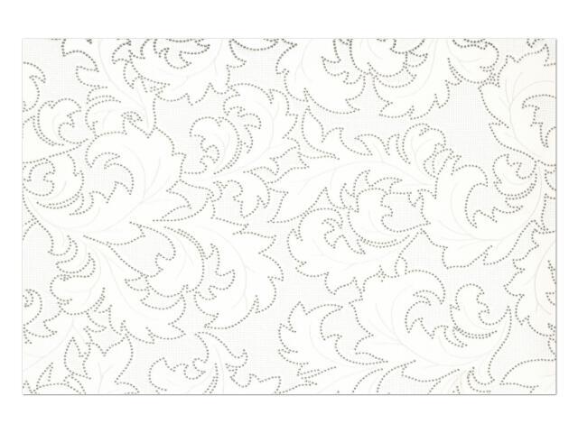 Płytka ścienna Diana Bianco dekor 33,3x50 Polcolorit
