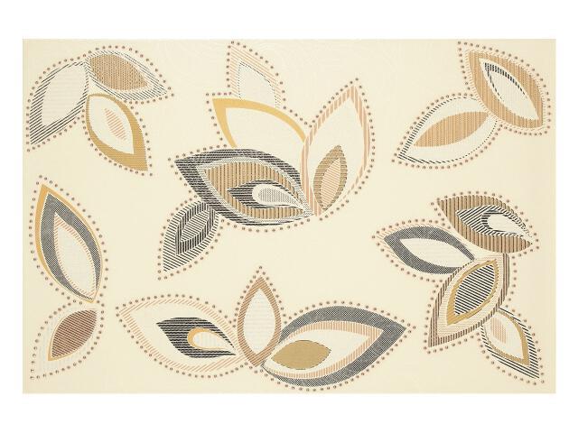 Płytka ścienna Flowers Beige dekor 33,3x50 Polcolorit