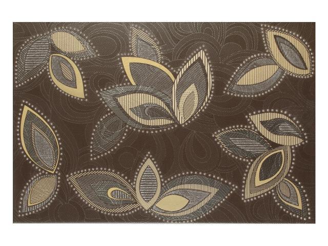 Płytka ścienna Flowers Marron dekor 33,3x50 Polcolorit