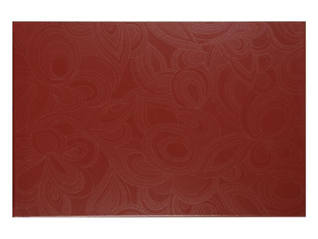 Płytka ścienna Flowers Bordo 33,3x50 Polcolorit