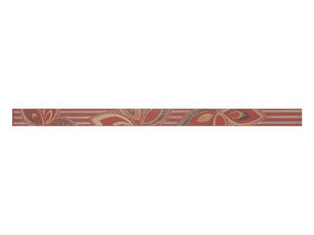 Płytka ścienna Flowers Bordo listwa 3x50 Polcolorit