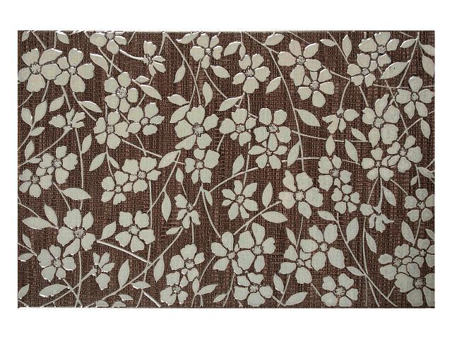 Płytka ścienna Greta Heban dekor 33,3x50 Polcolorit