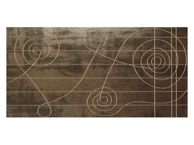 Płytka ścienna Loft Bronzo Klucz dekor 30x60 Marconi