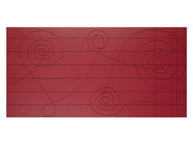 Płytka ścienna Loft Rosso Klucz dekor 30x60 Marconi