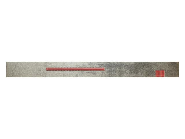 Płytka ścienna Loft Silver Szkło listwa 6x60 Marconi
