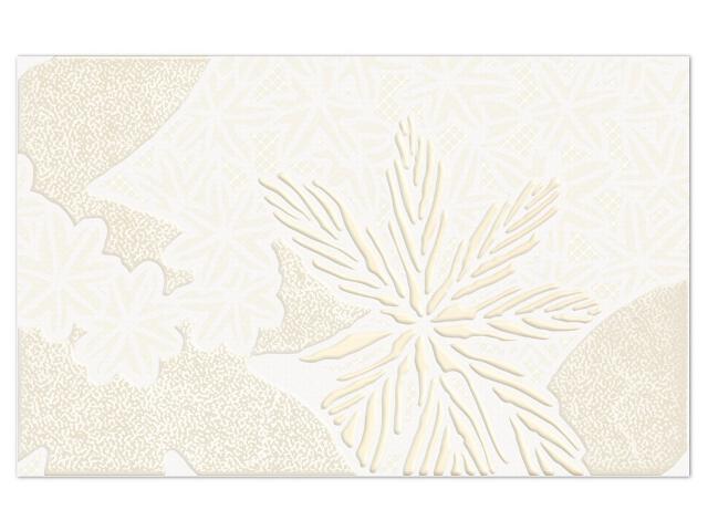 Płytka ścienna Artable Bianco inserto drukowane B 25x40 Paradyż