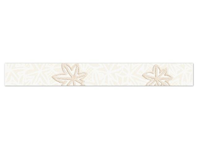 Płytka ścienna Artable Bianco listwa drukowana 4,8x40 Paradyż