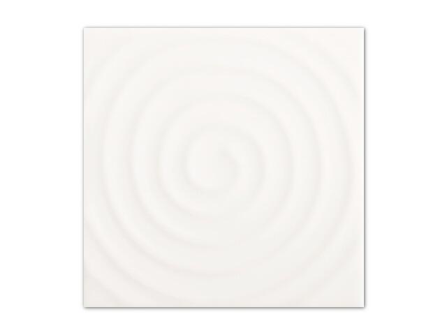 Płytka ścienna Toccata Bianco inserto Koło 9,8x9,8 Paradyż