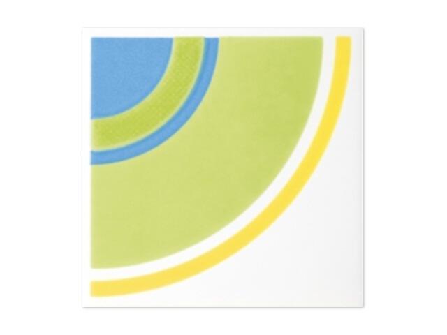 Płytka ścienna Oxicer inserto Color D 9,8x9,8 Paradyż