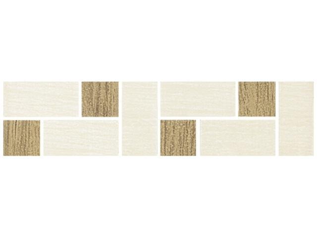 Płytka ścienna Ebony Beige listwa mozaika 4,8x20 Kwadro