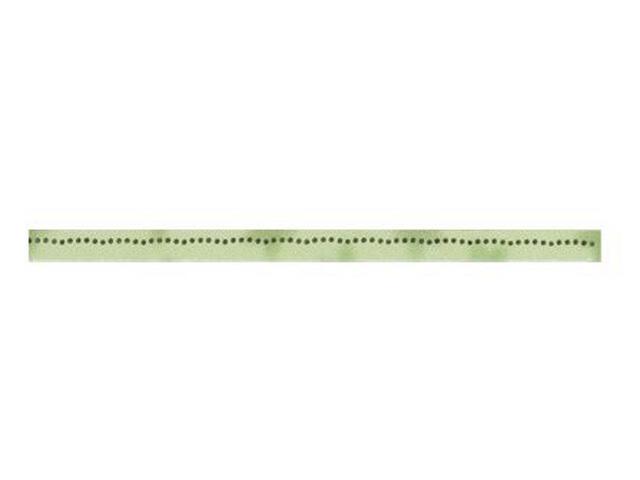 Płytka ścienna Stokrotka Verde listwa 1,5x25 Kwadro