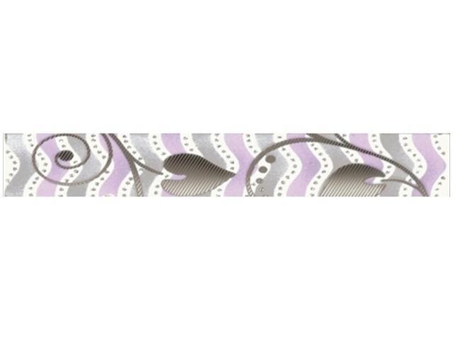 Płytka ścienna Tirani Viola listwa 4,8x33,3 Kwadro