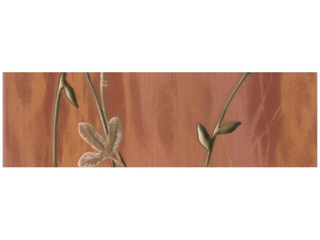 Płytka ścienna Magnolia Brown listwa B 7,6x25 Kwadro
