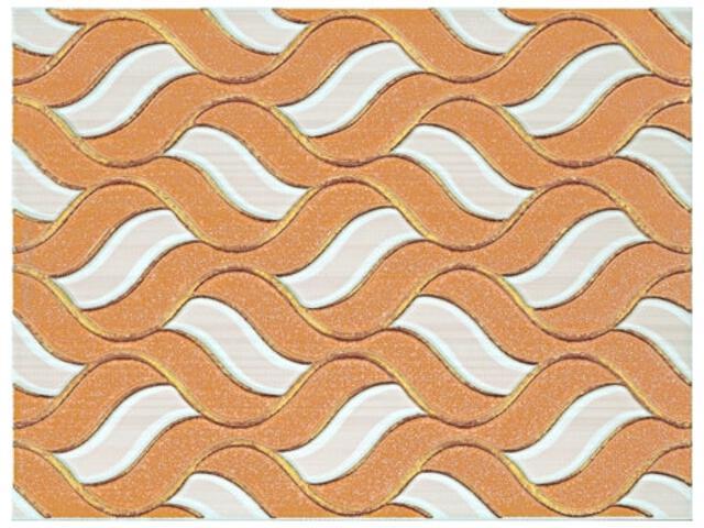 Płytka ścienna Piwonia Bianco inserto 25x33,3 Kwadro