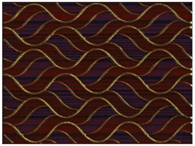 Płytka ścienna Piwonia Brown inserto 25x33,3 Kwadro