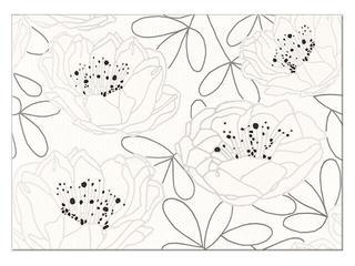 Płytka ścienna centro Daria kwiatki 25x35 Cersanit