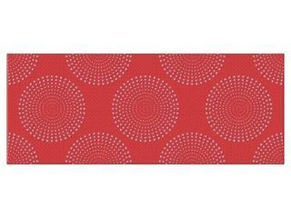 Płytka ścienna centro Fusion czerwień 20x50