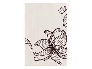 Płytka ścienna centro Lorena brązowe flower a 30x45 Opoczno