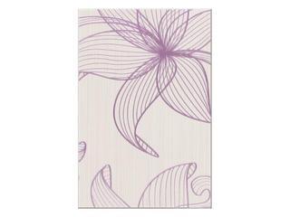 Płytka ścienna centro Lorena fioletowe flower b 30x45 Opoczno