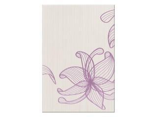 Płytka ścienna centro Lorena fioletowe flower a 30x45 Opoczno