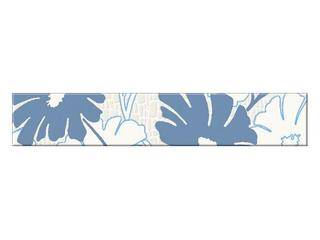 Płytka ścienna Polinesia niebieska flower 30x5,4 Opoczno
