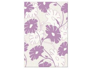 Płytka ścienna centro Polinesia fioletowe flower 30x45 Opoczno