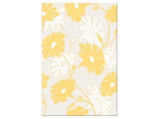 Płytka ścienna centro Polinesia żółte flower 30x45 Opoczno