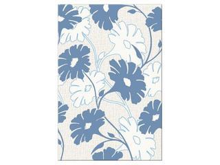Płytka ścienna centro Polinesia niebieskie flower 30x45 Opoczno