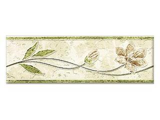 Płytka ścienna friza zielona 25x8 Aspazja Cersanit