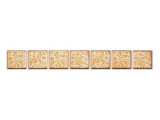 Płytka ścienna Elisa orange geo 25x3 Cersanit