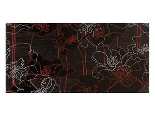 Płytka ścienna centro Infinita brąz flower line b 29x59,3